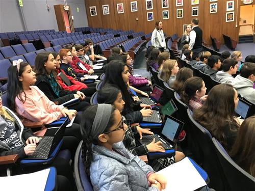 Plainview-Old Bethpage Students Explore Career Possibilities