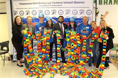 Plainview-Old Bethpage JFK High School Hosts Engineering Awareness Night  for Students Across the District