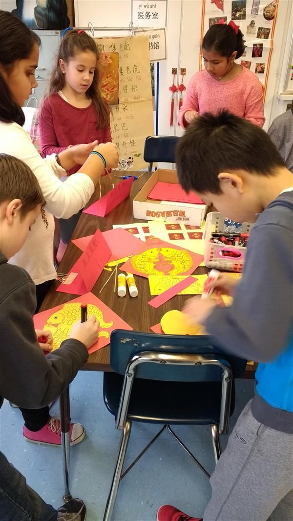Chinese Lunar New Year at Stratford Road Elementary School