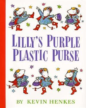 Lily's Purple Plastic Purse