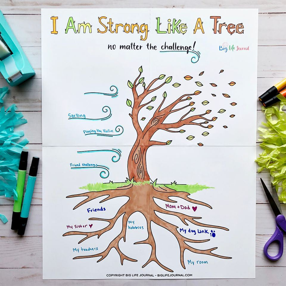 Video Lesson- Strong Like a Tree: Building Resilience and Regulating Worry