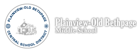 Plainview-Old Bethpage Middle School logo